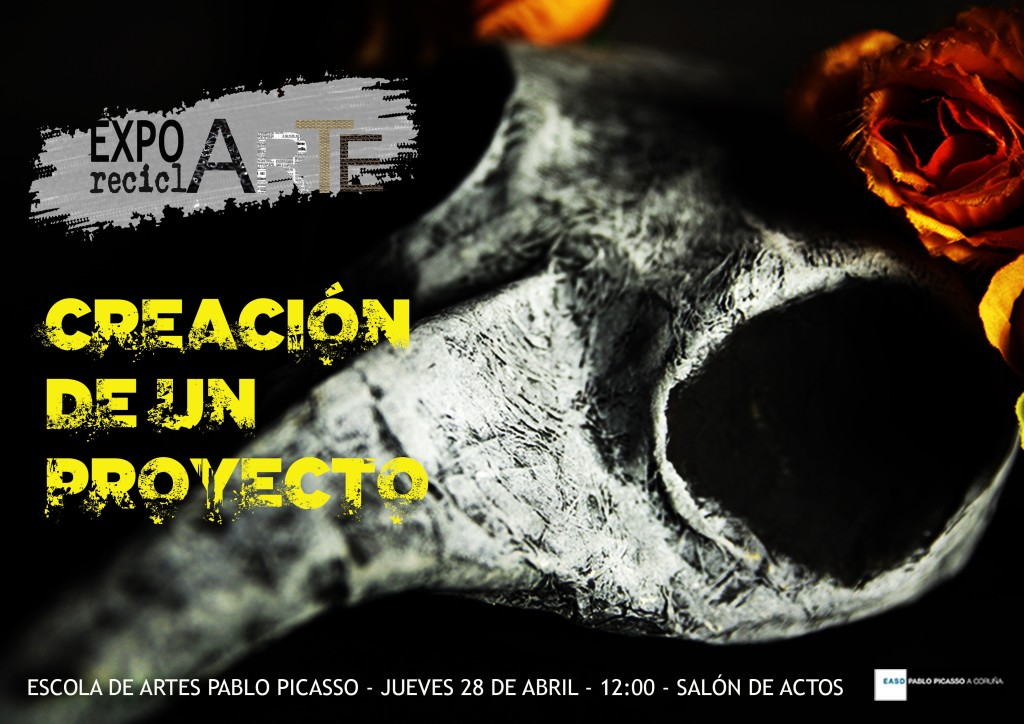 Cartel charla Expo reciclARTE