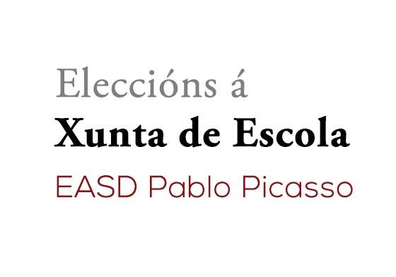 Eleccións á Xunta de Escola na EASD Pablo Picasso