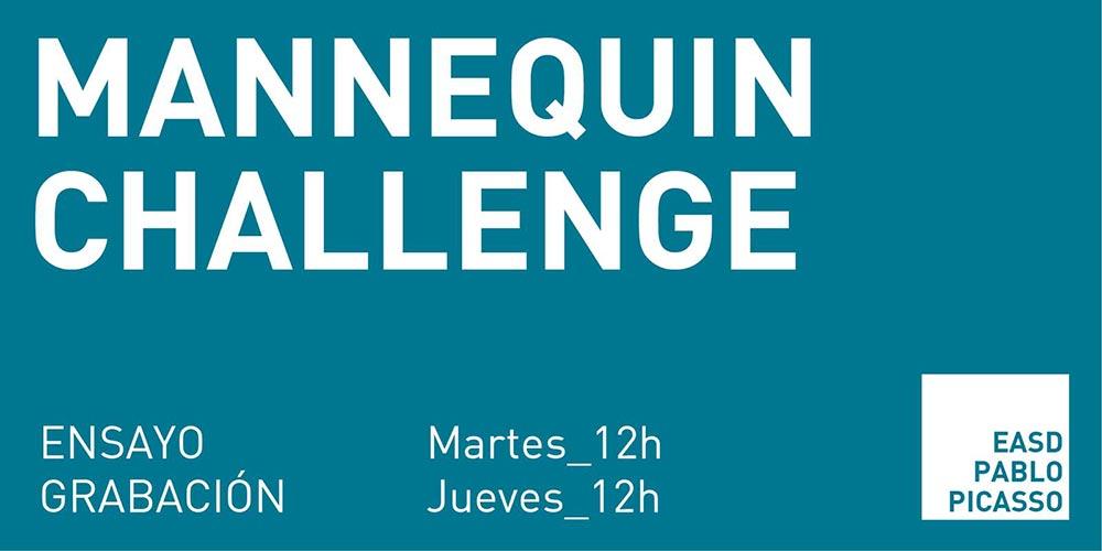 Ensaio Mannequin Challenge martes ás 12 horas. Grabación, xoves ás 12 horas, na EASD Pablo Picasso