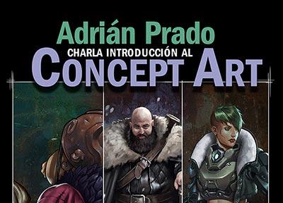 Adrián Prado. Charla introducción al concept art
