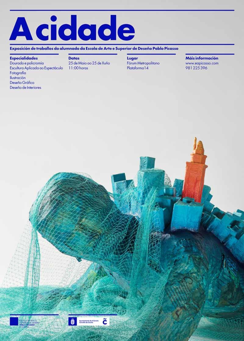 Inauguración da exposición de fin de curso dos alumnos da EASD Pablo Picasso, 25 de mayo ás 11 horas