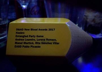 Lapiz amarelo, premio do concurso cos nomes dos gañadores