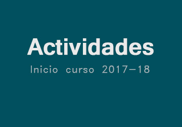 Actividades Inicio Curso 2017-18