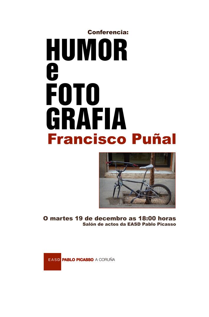 Conferencia martes 19 de decembro sobre fotografía humorística