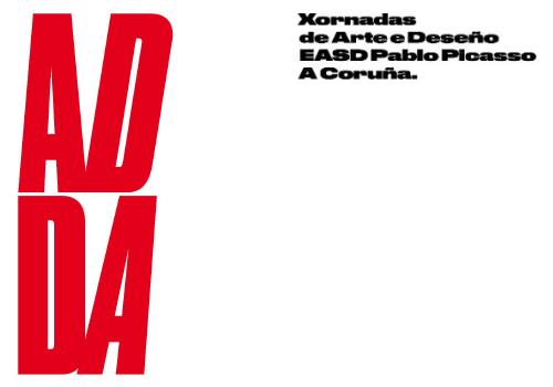 Programa das Xornadas Arte e Deseño organizadas pola EASD Pablo Picasso