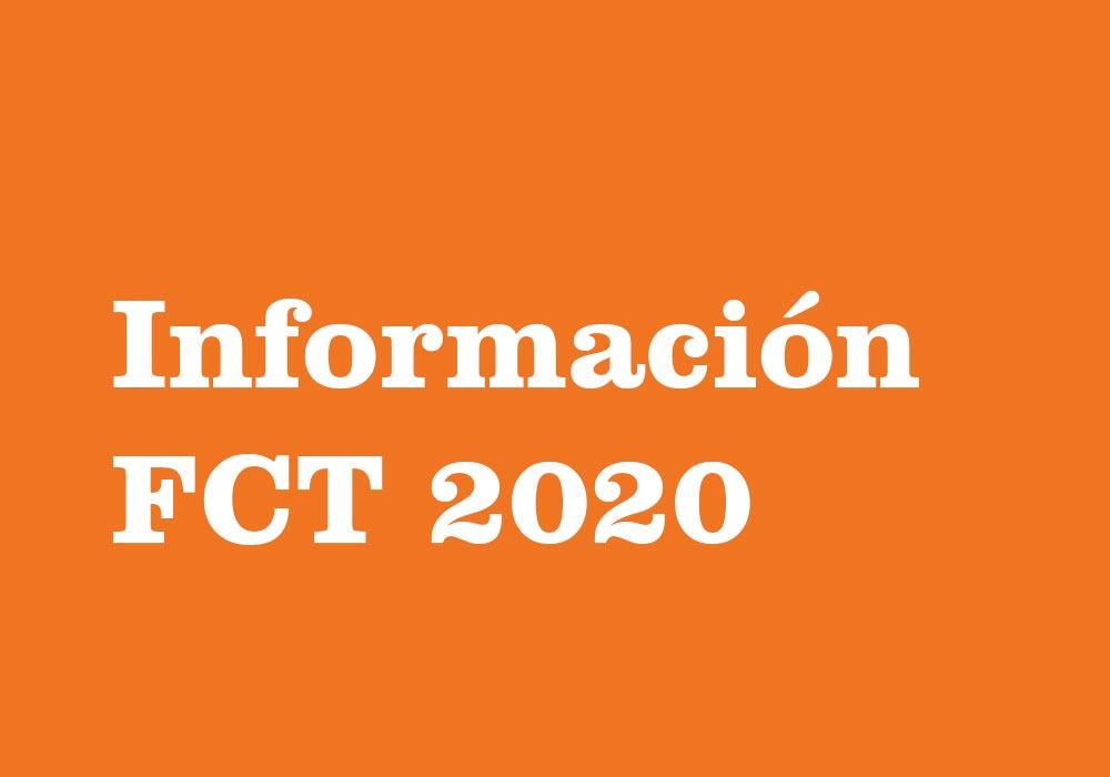 Reunión informativa DCT 2020