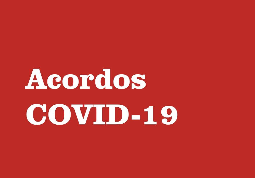 Medidas excepcionais Covid-19