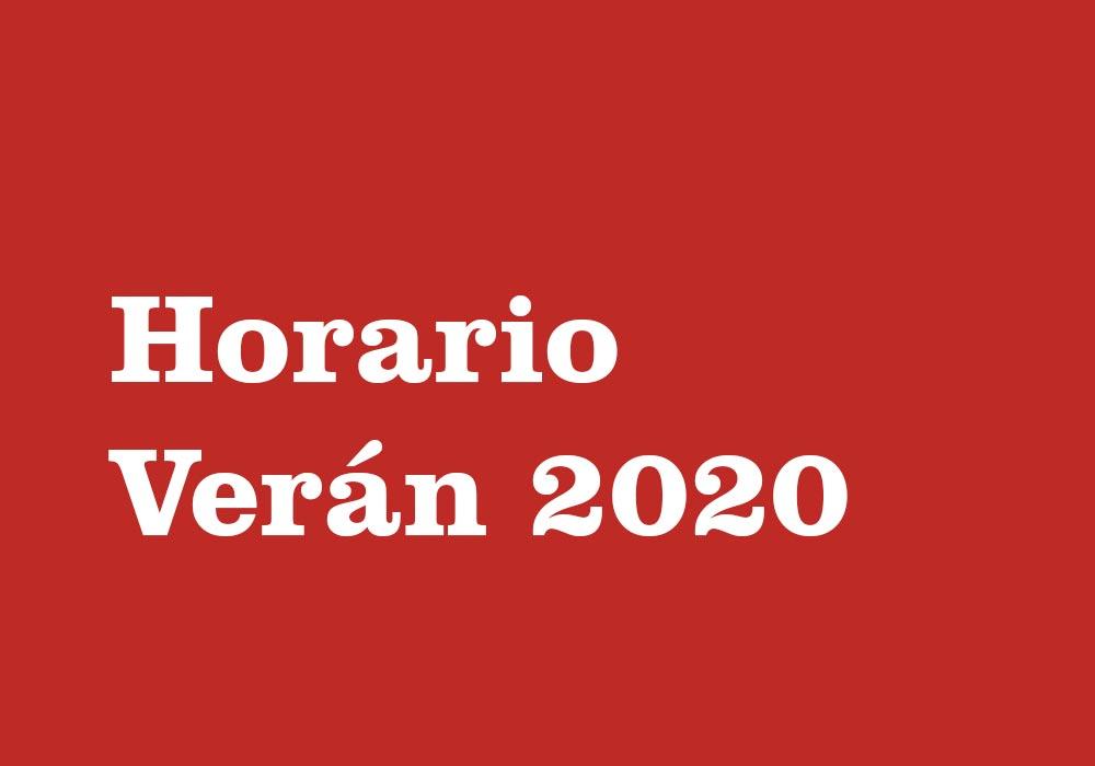 Horario de verán 2020