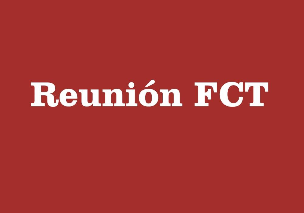 Reunión FCT